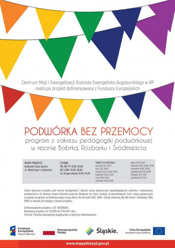 Podwórka bez przemocy – program z zakresu pedagogiki podwórkowej w rejonie Bobrka, Rozbarku i Śródmieścia